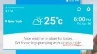 Smart Alerts in LG UX4.0