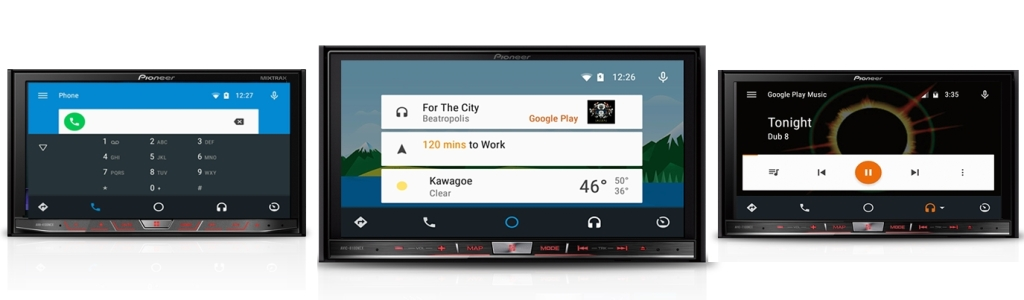 Android Auto head units from Pioneer