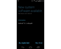 Moto E Android 5.1 update