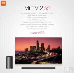 Xiaomi Mi TV 2 55-inch