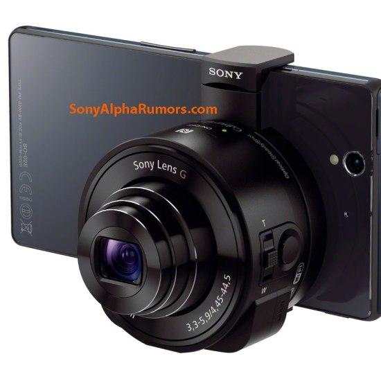 Sony DSC-QX100 with Xperia Z