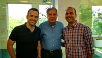 Ratan Tata with Xiaomi executives