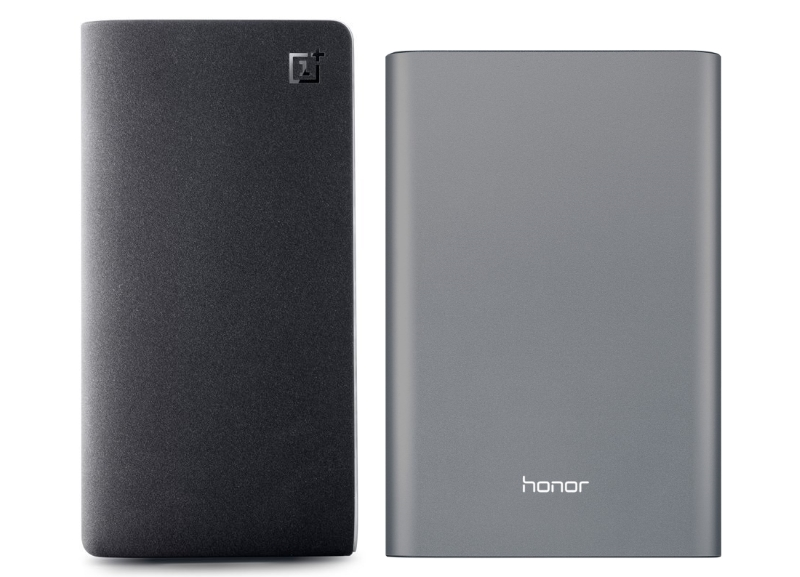 OnePlus and Huawei Power Banks