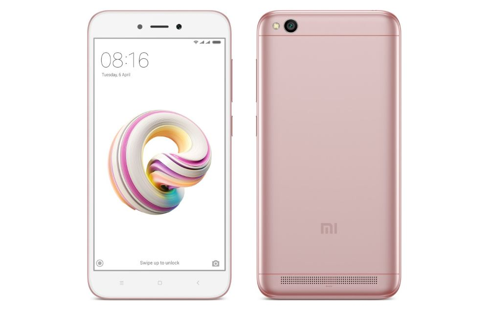 Xiaomi Redmi 5A Rose Gold