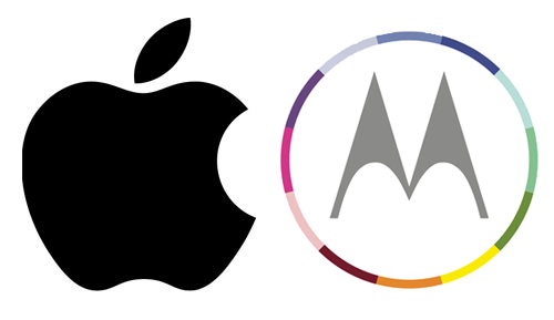 Apple and Motorola
