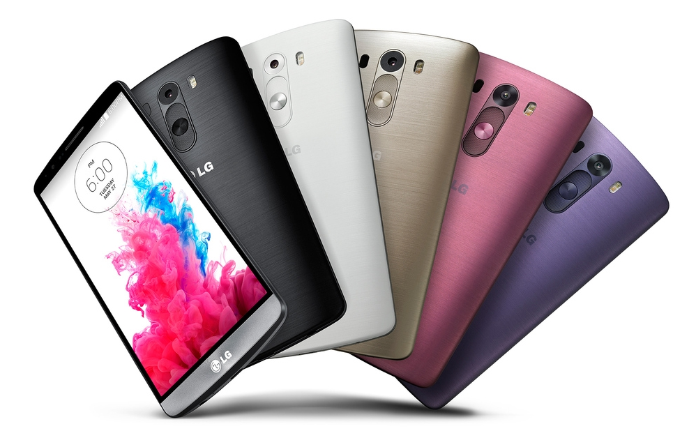 LG G3 all colours