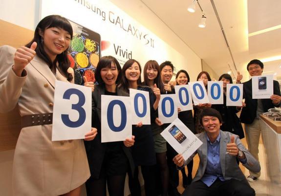 Samsung Galaxy S Family Sales