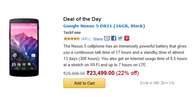Nexus deal