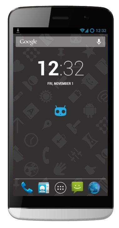 Micromax CM phone mock-up