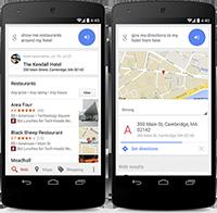Google Search around hotels