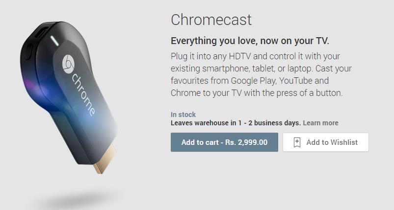 Chromecast on Google Play
