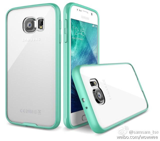 Samsung Galaxy S6 case render