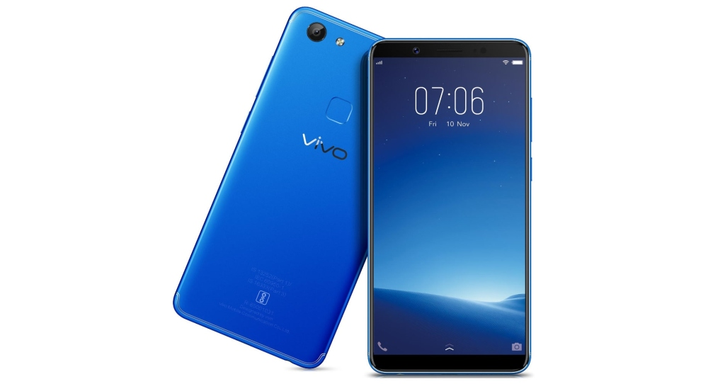 Vivo V7 Energetic Blue