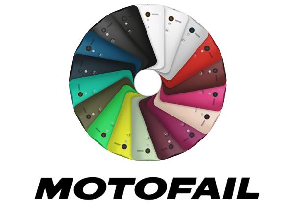 Moto X Cyber Monday fail