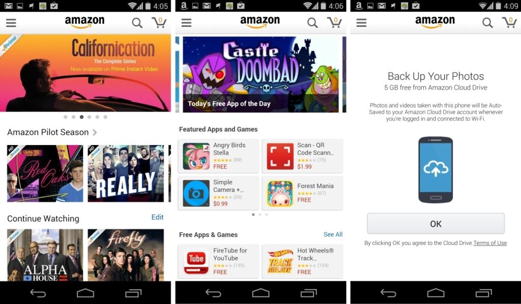 Amazon app update