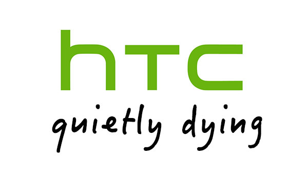 HTC dying logo