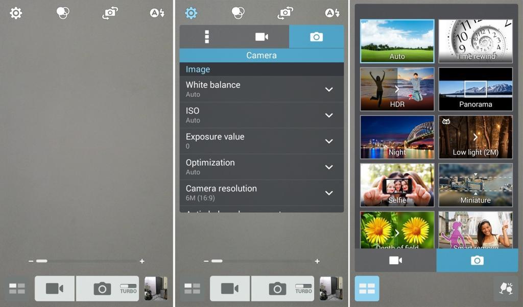 Asus Zenfone 5 Camera app
