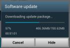Samsung Galaxy Note II Update