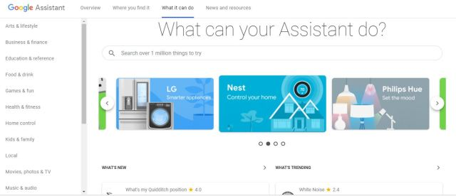 What Google Assistant Can Do for You