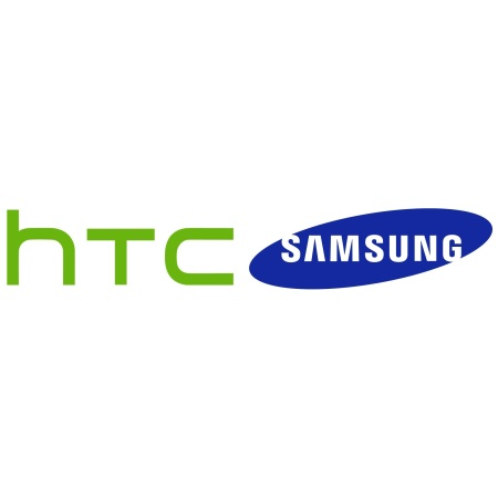 HTC and Samsung logo