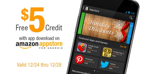 Amazon Appstore Credit