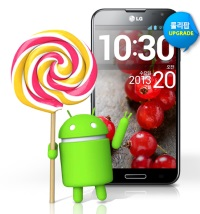 Android 5.0 update for LG Optimus G Pro