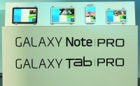 Samsung Galaxy NotePro and TabPro tablets