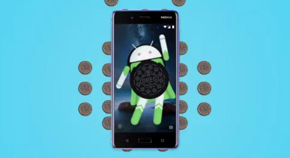 Nokia 8 Oreo update