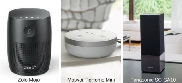 Google Assistant smart speakers