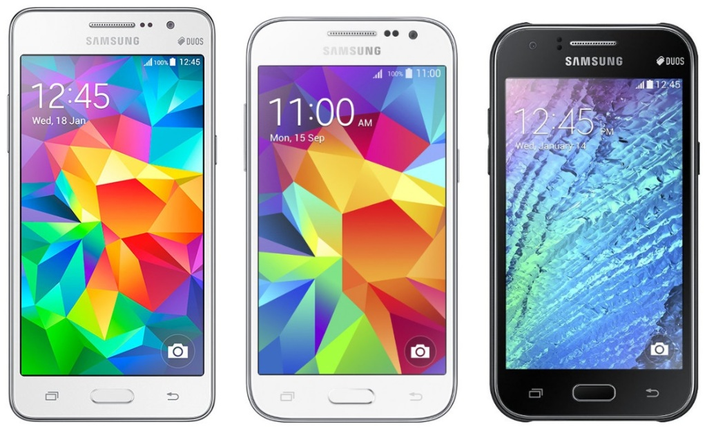 New Samsung 4G phones