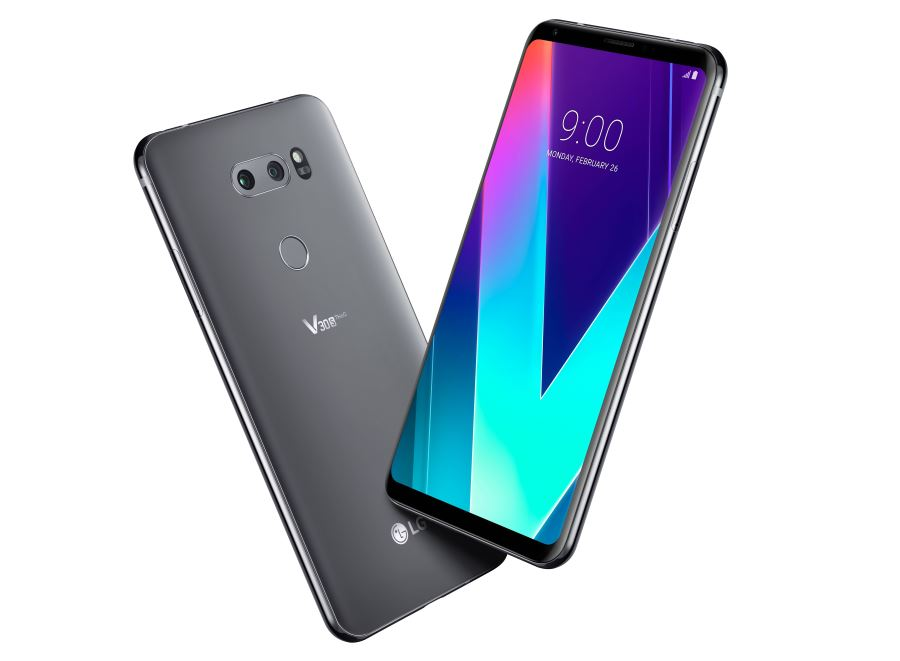 LG V30S ThinQ in Gray