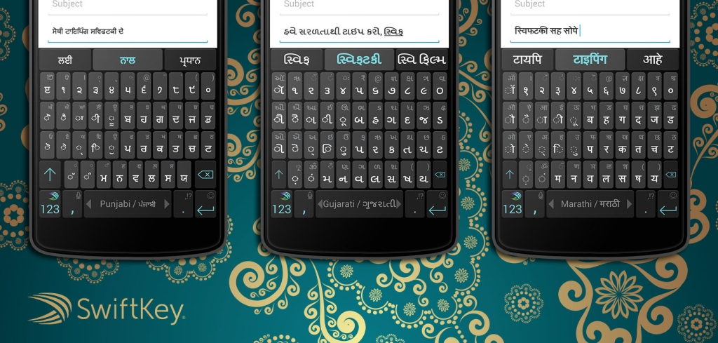 Swiftkey with Indian languages support