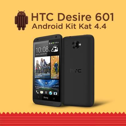 HTC Desire 601 KitKat update