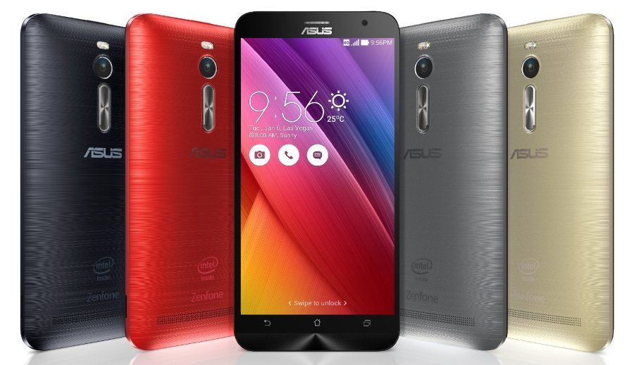 Asus Zenfone 2 colours