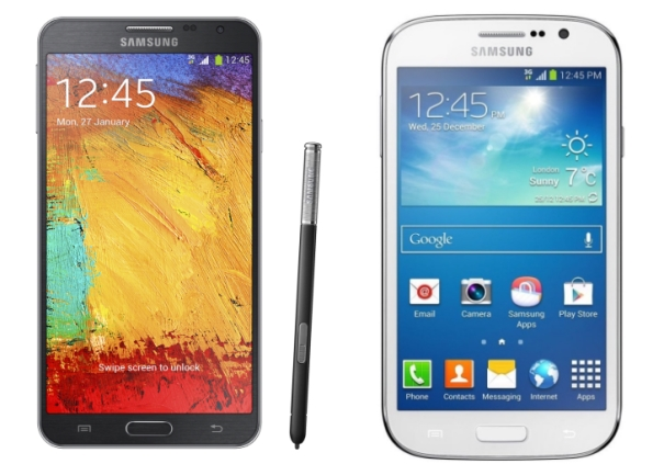 Samsung Galaxy Note 3 Neo and Grand Neo