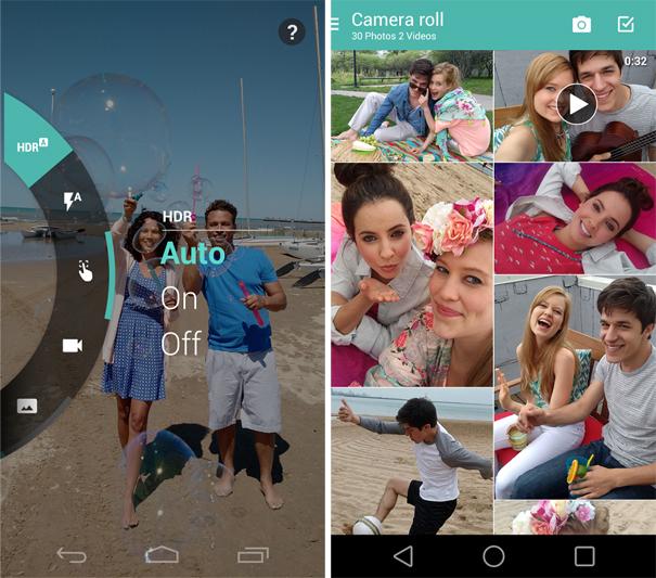 Motorola Camera and Gallery apps