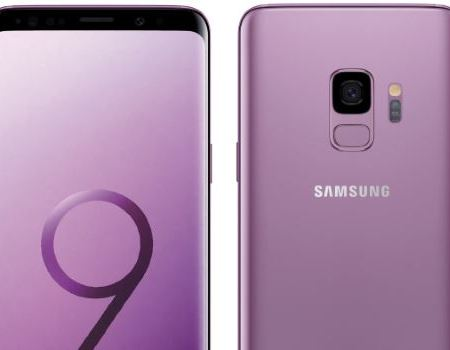Samsung Galaxy S9 in Lilac Purple