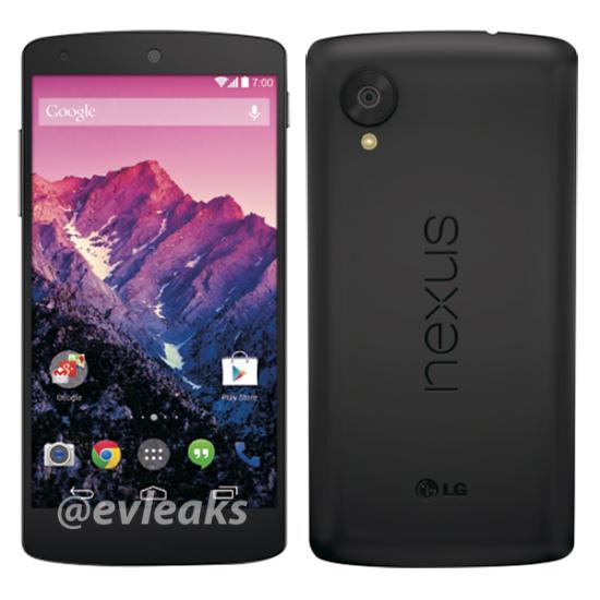 Black Google Nexus 5