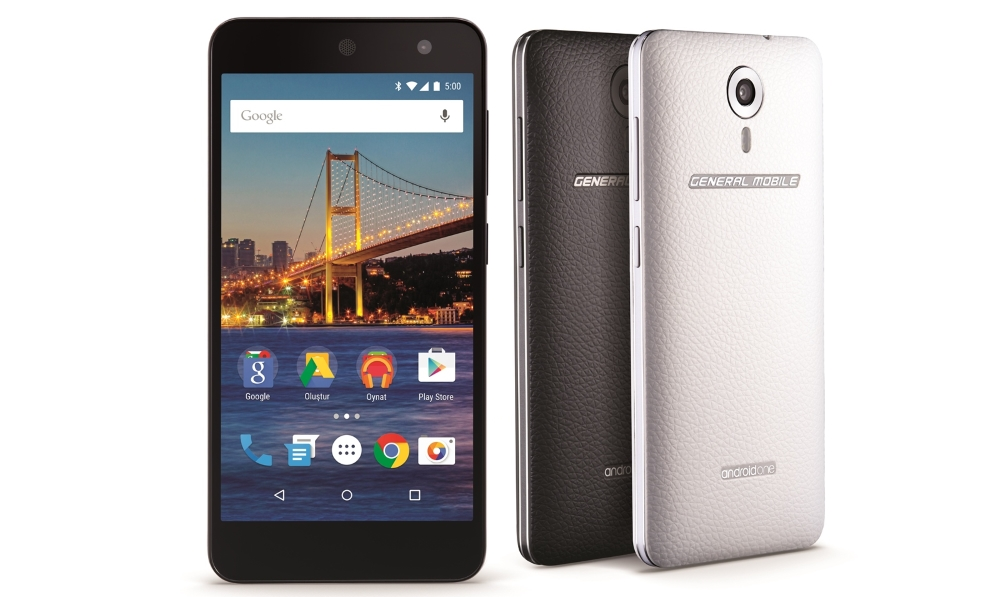 General Mobile 4G Android One phone