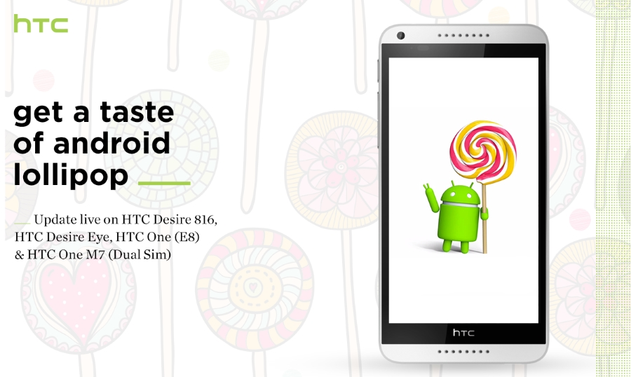HTC India lollipop update roll-out