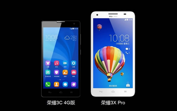 Huawei Honor 3X Pro and Honor 3C 4G