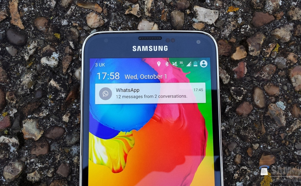 Android L on Samsung Galaxy S5