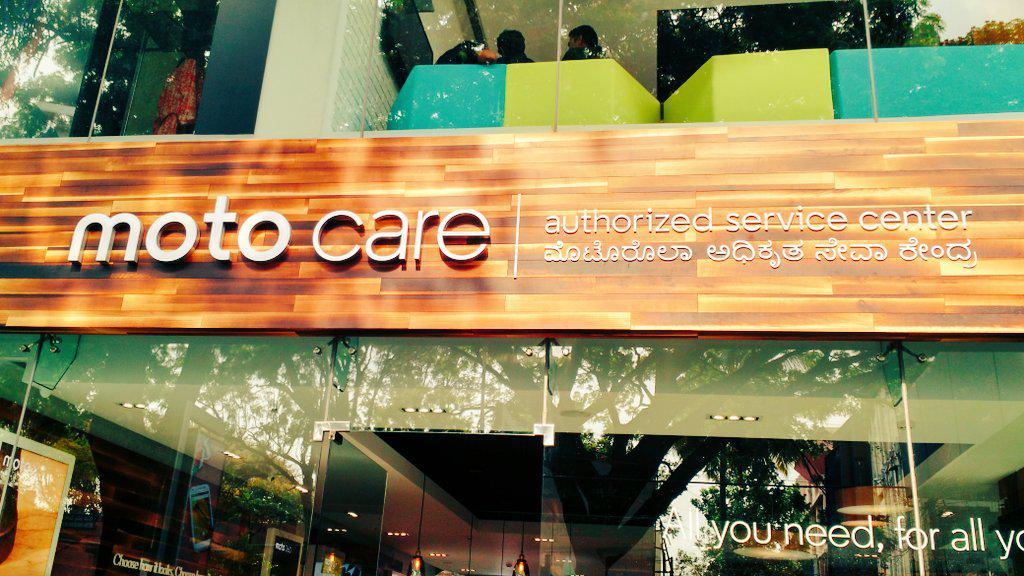 Moto Care experience centre