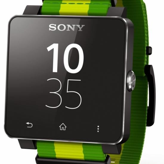 Sony SmartWatch FIFA Green