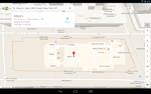 Redesigned Google Maps for Android