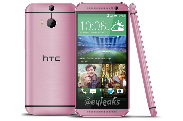 Pink HTC One (M8)