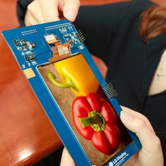 LG Display's 5-5-inch QHD LCD