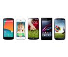 Nexus 5 vs Apple iPhone 5s, Galaxy S4, LG G2 and Xperia Z1