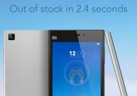 Xiaomi Mi 3 fourth sale
