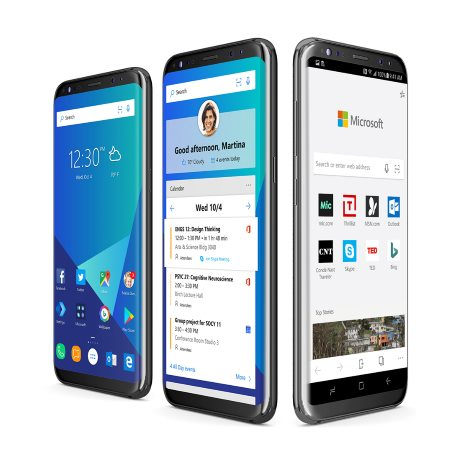 Microsoft Launcher and Edge for Android